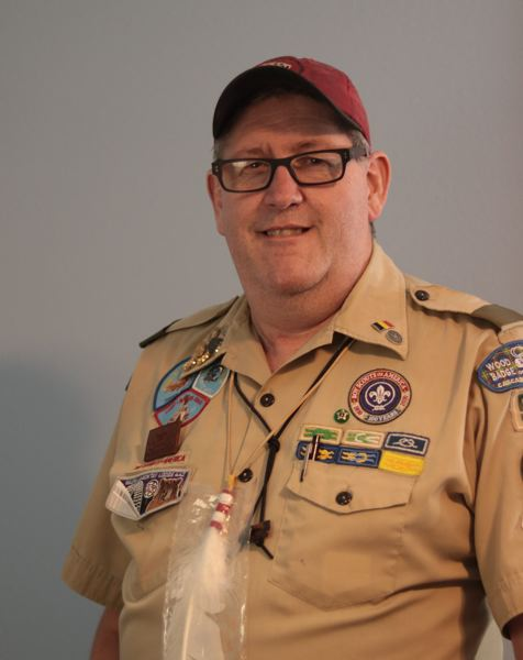 COURTESY PHOTO: CASCADE PACIFIC COUNCIL, BOY SCOUTS OF AMERICA. - Mitch Turner, a Gresham Scoutmaster, has earned a prestigious Silver Beaver award from the Cascade Pacific Council, Boy Scouts of America.