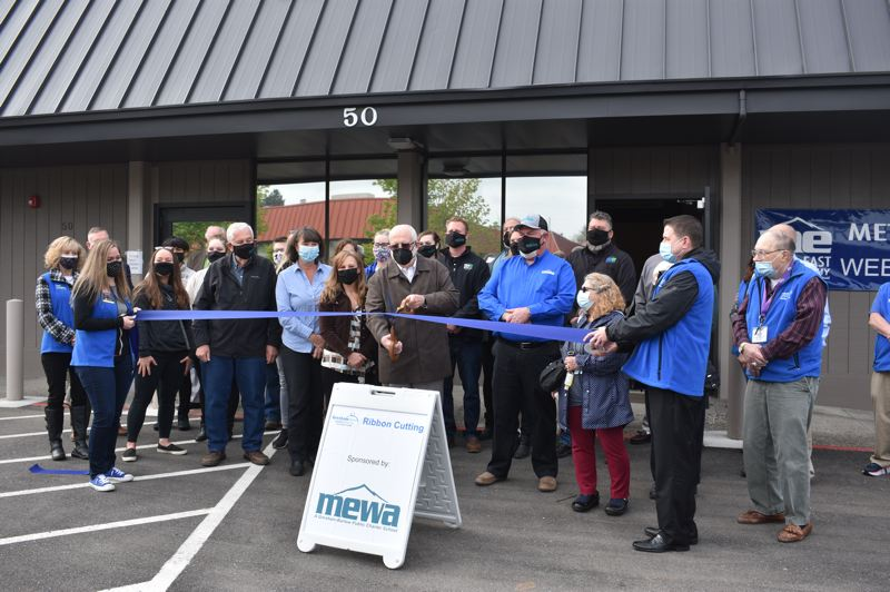 PMG PHOTO: TERESA CARSON - The Metro East Web Academy officially opened its new downtown Gresham building on Friday, April 23.