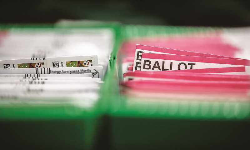 PMG FILE PHOTO - Nearly seven out of every 10 Oregonians believe democracy has weakened across the United States over the past four years.