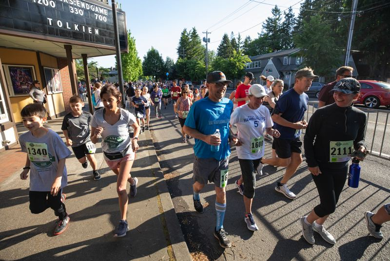 The Lake Run won't have the same communal feel this year, but it's still a chance to get some exercise and raise money for a worthy cause.