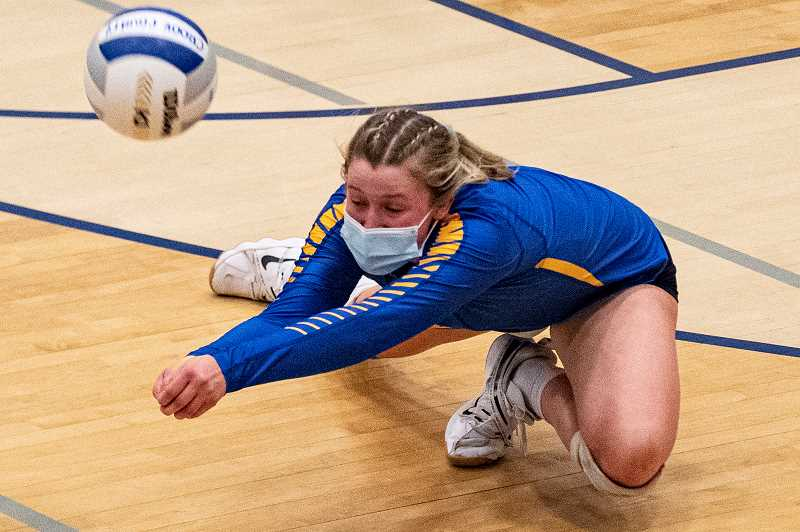 LON AUSTIN - Kacie Stafford was named the co-player of the year for the Intermountain Conference this season. Stafford, an all-league libero last year, moved to outside hitter this season, but still led the team in digs. Cowgirl coach Kristi Struck was named the IMC coach of the year. Four other Cowgirls earned first team honors.