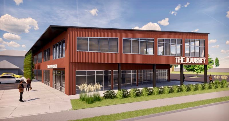 COURTESY RENDERING: AXIS DESIGN GROUP - The Journey will be a jobs training center — helmed by former Executive Director Cathe Wiese.