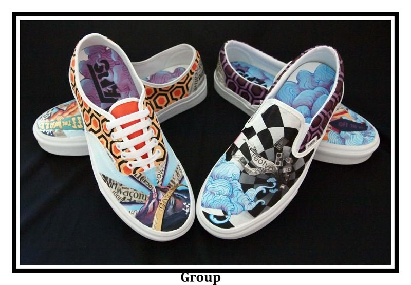 COURTESY PHOTO: SANDY HIGH SCHOOL  - Sandy High artists have entered the Vans Custom Culture Contest for the past eight years.