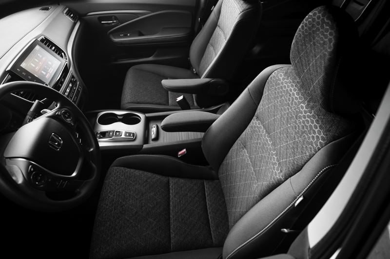 HONDA AMERICA MOTOR CO. - The front bucket seats in the 2021 Hona Ridgeline are comfortable and supportive.