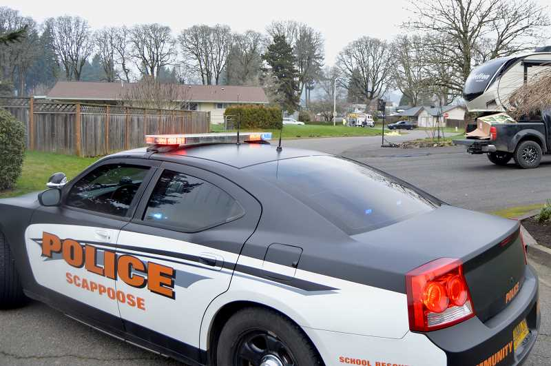 PMG FILE PHOTO - Scappoose Police Department