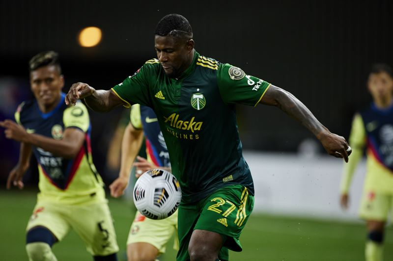 COURTESY PHOTO: PORTLAND TIMBERS/CRAIG MITCHELLDYER - Dairon Asprilla and the Portland Timbers have a significant opportunity this week, and its not the May 9 game against Seattle. Its the Wednesday match in Mexico City against Club America.