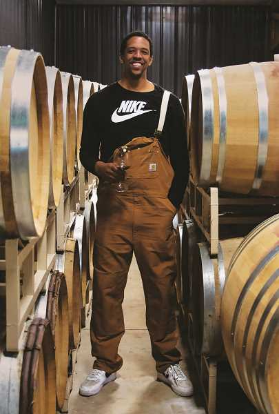 COURTESY PHOTO: ONE BARREL CHALLENGE - Former Portland Trail Blazer Channing Frye joined a current player and a foundation named after the late Blazer great Maurice Lucas in collaborating on One Barrel Challenge.