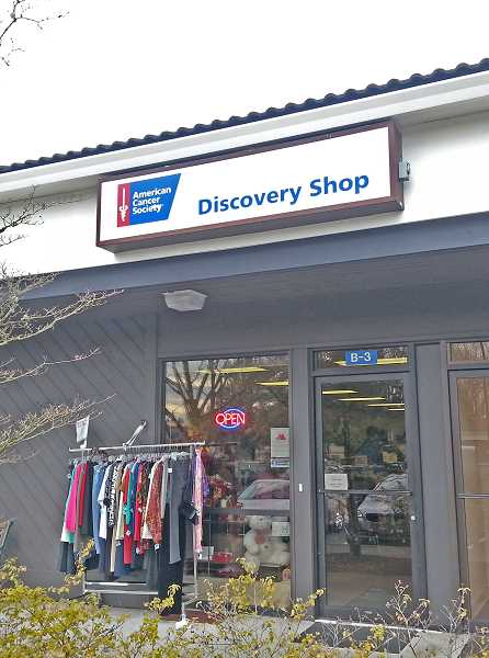 COURTESY PHOTO: AMERICAN CANCER SOCIETY - After 38 years in Tigard, the Discovery Shop, which is owned and operated by the American Cancer Society, is shutting its doors.