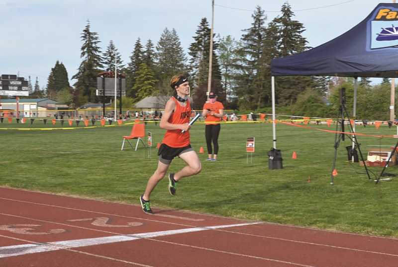 PMG FILE PHOTO - Molalla's track team had plenty of good performances in a dual meet with Gladstone this week.