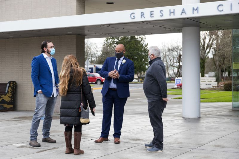 COURTESY PHOTO: CITY OF GRESHAM - Gresham Mayor Travis Stovall is working with other city leaders to find solutions to prevent gun violence from happening across the city.