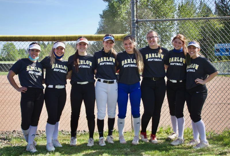 PMG PHOTO: CHRISTOPHER KEIZUR - Barlow softball is led by a group of seniors who bring 'professionalism and experience' to the conference leaders, their coach said.