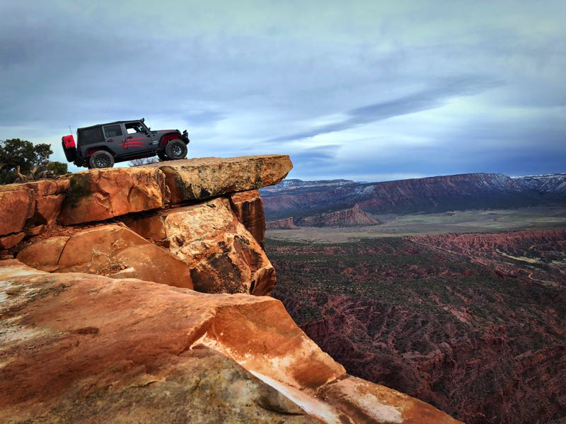 Zombicon at Top of The World near Moab, UT.