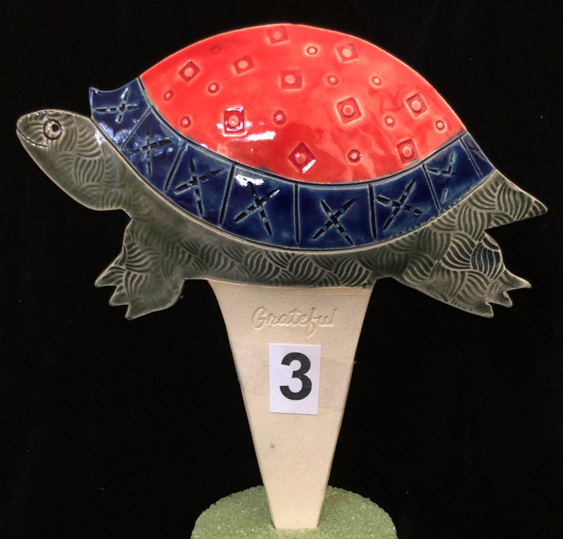 COURTESY PHOTO - Candace Wilson's ceramic piece will be on display at the Lakewood Center for the Arts later this month.
