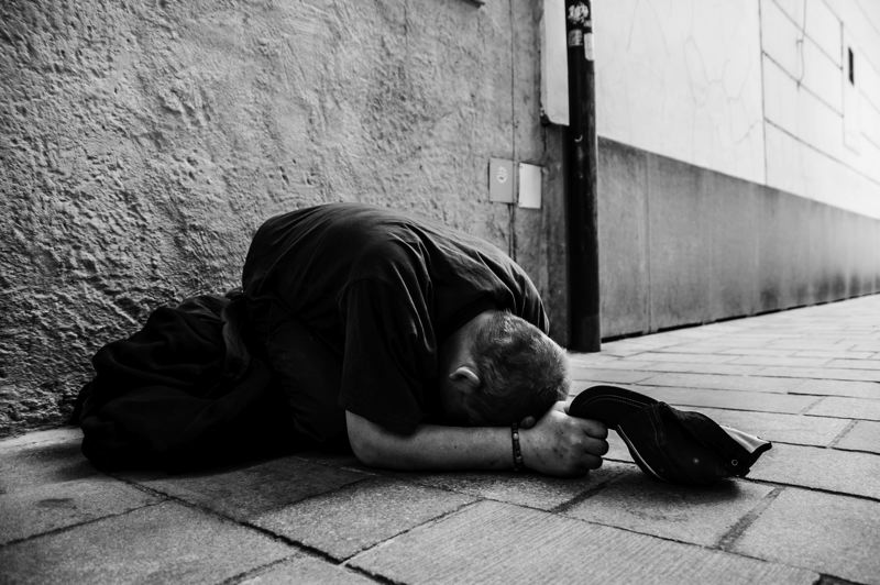 COURTESY PHOTO: UNSPLASH/MICHAL MATION - In 2019, the Clackamas Countys point-in-time count showed 110 unsheltered individuals were experiencing mental or emotional health issues.