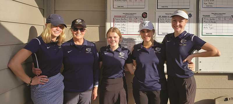 Cougars grab golf title