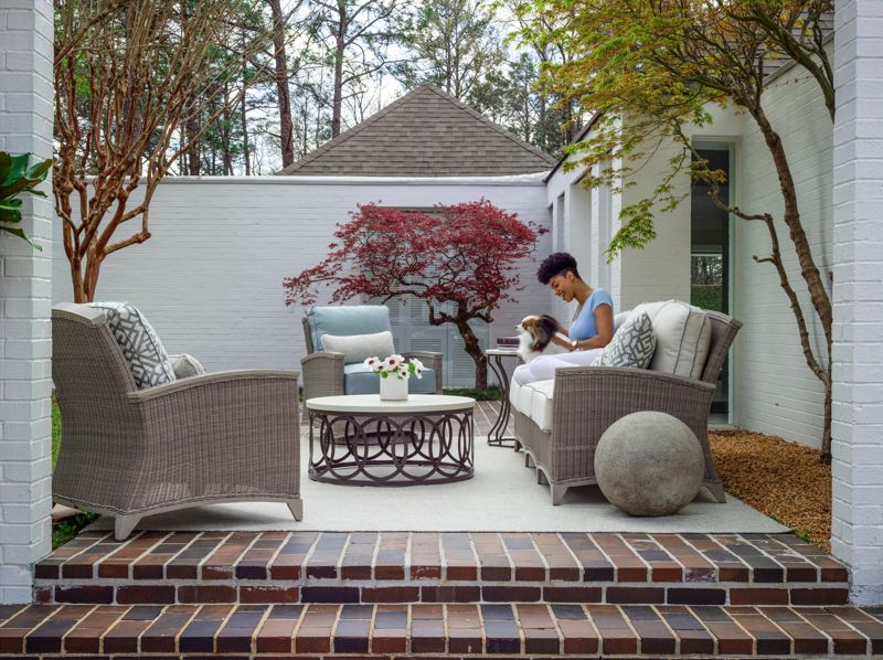 COURTESY PHOTO: CREATIVE INTERIORS - Creative Interiors will help you design an outdoor living space that fits your needs.