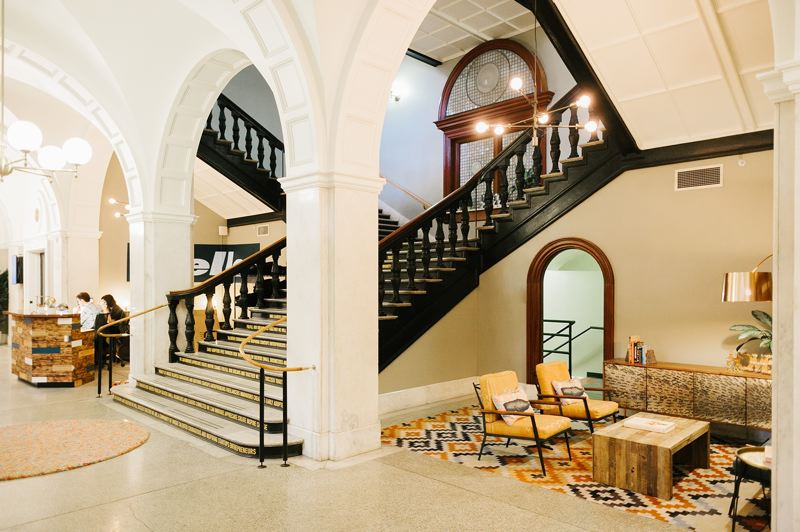 COURTESY PHOTO: LORENTZ BRUUN CONSTRUCTION - The renovation by Lorentz Bruun Construction transformed the Custom House in Old Town into a one-of-a-kind asset, featuring stunning architectural features
