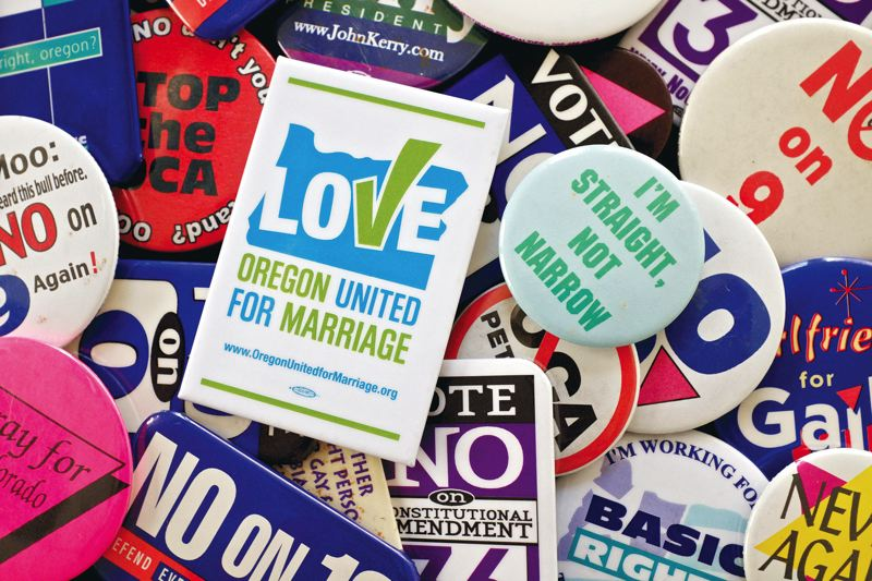 FILE - There have been more anti-gay rights ballot measures in Oregon than in any other state.
