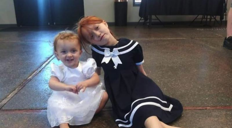 COURTESY PHOTO: MARTINS-READ FAMILY/GOFUNDME - Nine-year-old Baylei Bissonette, right, did not survive the crash.