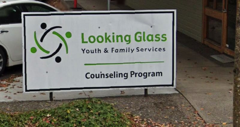 VIA GOOGLE MAPS - A logo for Looking Glass Community Services is shown here.