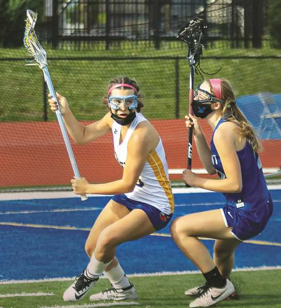 The NHS girls lacrosse team has accumulated a 6-2 overall record, 201 in league play.