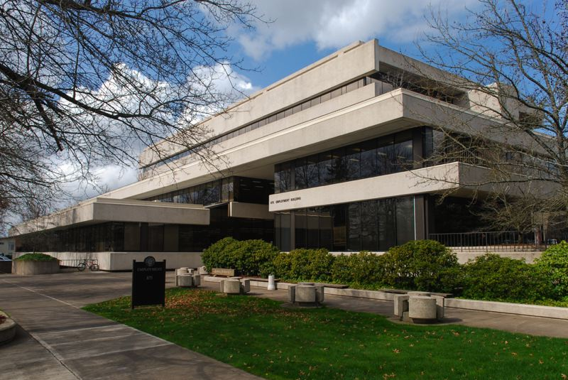 COURTESY PHOTO - The Employment Department headquarters in Salem is shown here. The agency says it will phase in work search requirements, suspended during the coronavirus pandemic, as a condition for people receiving unemployment benefits.