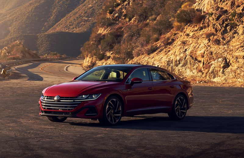 COURTESY VOLKSWAGEN OF AMERICA - The 2021 Volkswagen Arteon is a stunning midsize sedan that is available with all-wheel-drive.