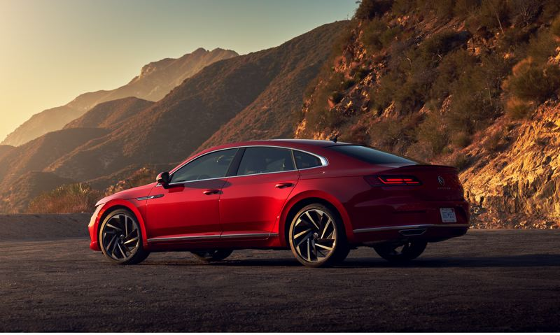 COURTRSY VOLKSWAGE OF AMERICA - The 2021 Volkswagen Arteon looks great from every angle.