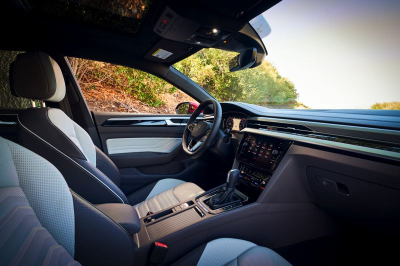 COURTESY VOLKSWAGEN OF AMERICA - A roomy interior is just one of the selling points of the 2021 Volkswagen Arteon.