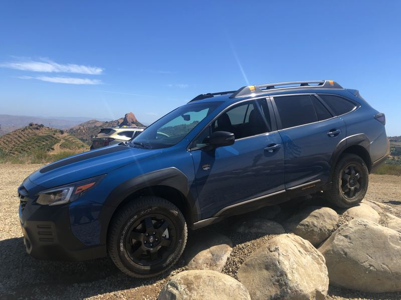 PMG PHOTO: JEFF ZURSCHMEIDE - The 2021 Subaru Outback Wilderness increases ground clearance from 8.7 inches to 9.5, with better approach, breakover, and departure angles.
