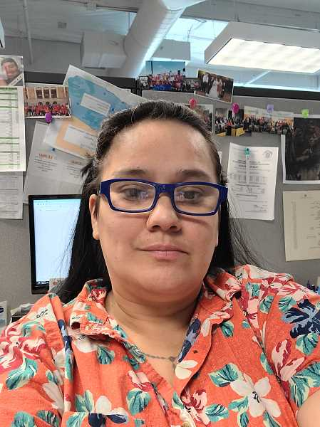 COURTESY: ANJANET BANUELOS BOLANOS - Anjanet Banuelos Bolanos now works for the laborers union and is an active part of the support group for women in construction called LeanIn Circles.