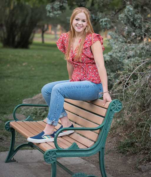 PHOTO CONTRIBUTED BY OLIVIA KERR  - Olivia Kerr is a senior at Crook County High School and plans to seek a degree in juvenile psychology.