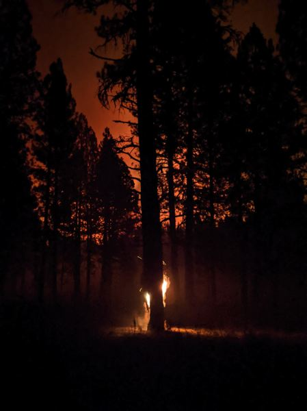 PMG FILE PHOTO - Most Oregonians believe that wildfires are a continuing danger, according to a new survey.