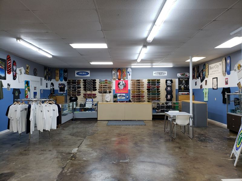 COURTESY PHOTO: KERRI COLE - Eastside Roll-In Skateboards & Skate Supply is having a grand opening in Troutdale Saturday,  June 5.