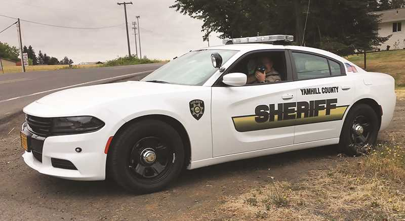COURTESY PHOTO: YCSO - The Yamhill County Sheriff's Office has joined other state and federal agencies for the annual Click It or Ticket program to remind drivers of the lifesaving benefits of wearing a seatbelt.