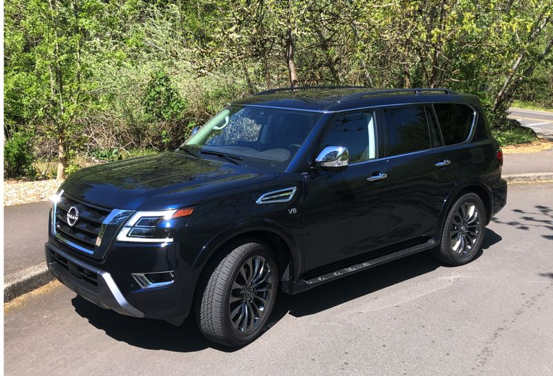 PMG PHOTO: JEFF ZURSCHMEIDE - The 2021 Nissan Armada provides tremendous value for a full size, truck-based SUV.