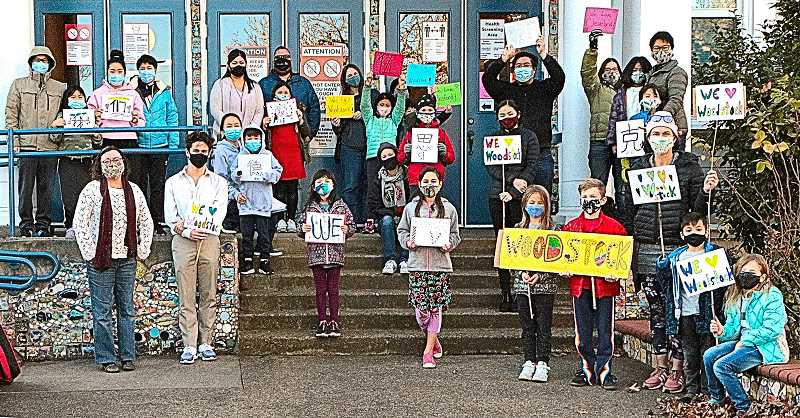DAVID F. ASHTON - Back in December, Shu Ren families came out in support of their own Mandarin Immersion Program continuing at Woodstock Elementary School.