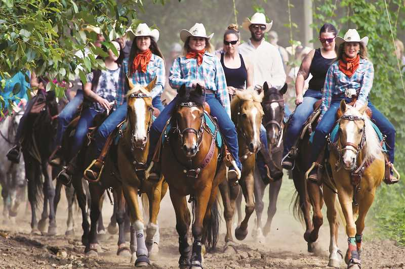 COUTESY PHOTO: ST. PAUL RODEO - On June 6 riders will take to trails outside of St. Paul for the annual rodeo trail rider.