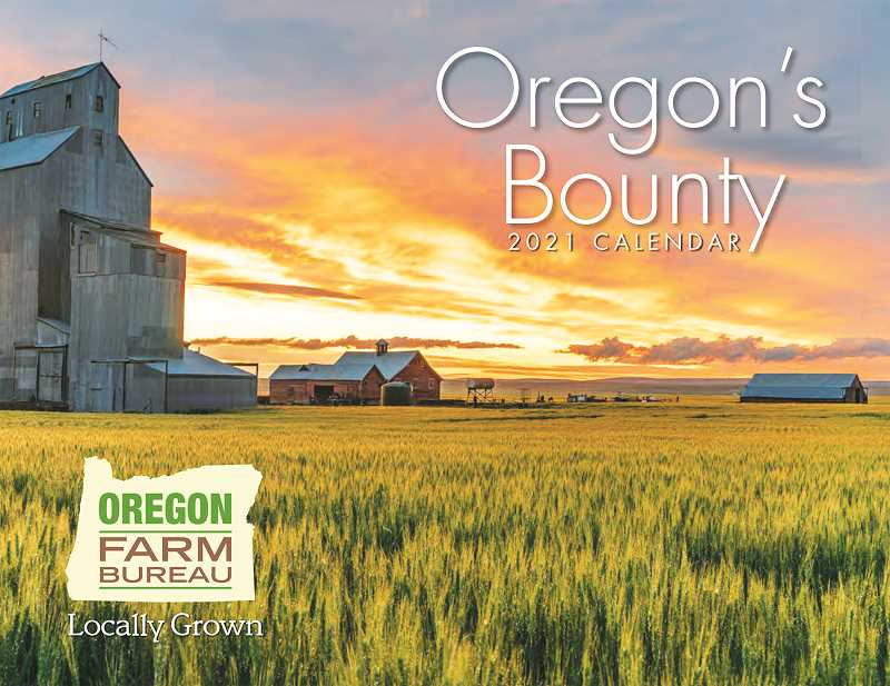 COURTESY PHOTO: OREGON FARM BUREAU - Those in the state of Oregon with high quality photos of Oregon's agriculture can now submit them for a calendar created annually by the Oregon Farm Bureau.