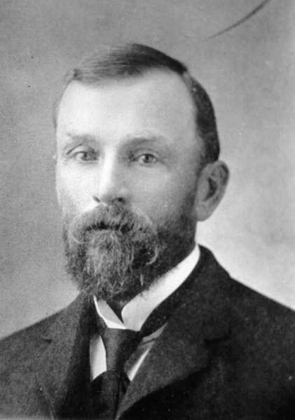 PHOTO COURTESY OF BOWMAN MUSEUM  - Springer was county judge when Jefferson County was created from Crook in 1914.