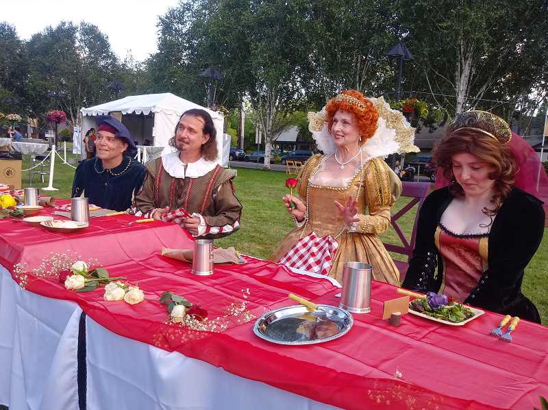 COURTESY PHOTO - The Westside Shakespeare Festival will be a three-day free immersive event for all ages at Beaverton Librarys south lawn.