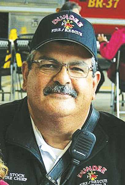COURTESY PHOTO: APRIL FLOYD - John Stock's employment as Dundee fire chief was terminated in August 2020 as a result of claims filed against him at the Bureau of Labor and Industries.