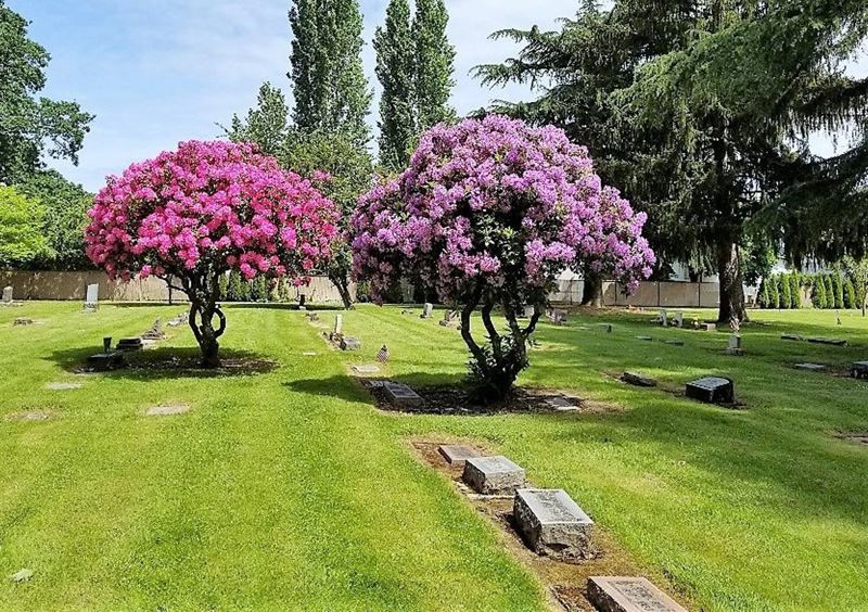 COURTESY PHOTO: FERNWOOD PIONEER CEMETERY - Volunteers are asking for a state grant to install seven security cameras at Newberg's Fernwood Pioneer and nearby Friends cemeteries.