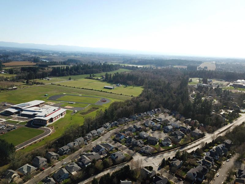 PMG FILE PHOTO - Frog Pond South, which already includes Meridian Creek Middle School, was added to the urban growth boundary along with Frog Pond East, in 2018. A recent Oregon Court of Appeals ruling validated that decision.