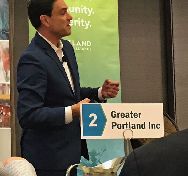 PMG PHOTO: DANA HAYNES - John Tapogna, founder of the Portland-based ECONorthwest consulting firm, advised the City Council at the May 25 work session.
