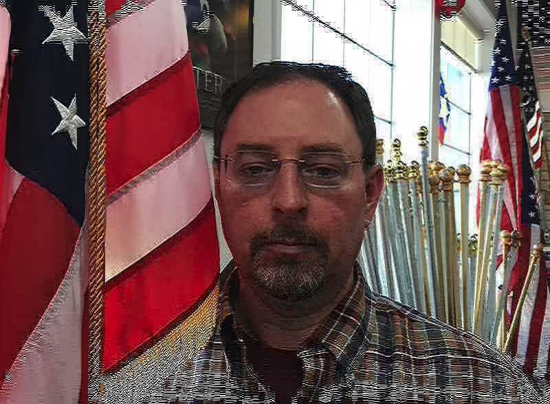 (Image is Clickable Link) Dave Anchel - Elmer's Flag and Banner