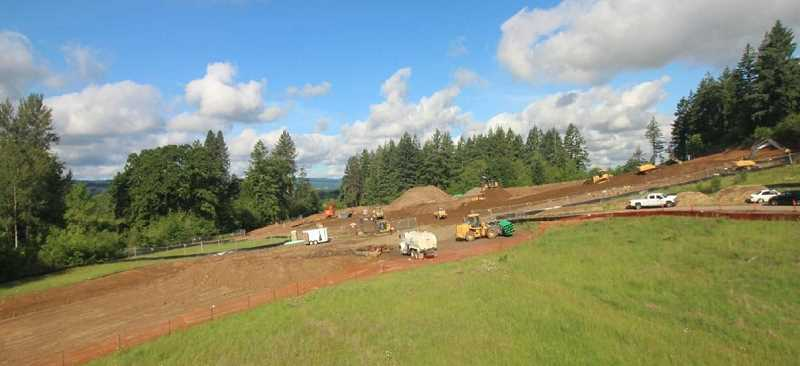 COURTESY PHOTO: TIGARD-TUALATIN SCHOOL DISTRICT - Art Rutkin Elementary School will sit on 10 acres of property along April Lane, which is accessed along Beef Bend Road. However, the official entrance will be built south of the Bull Mountain Road roundabout.