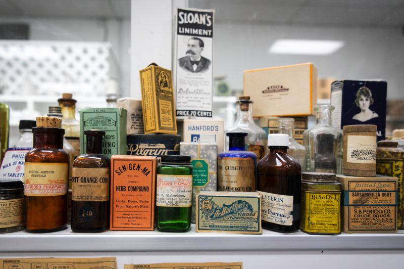 PMG PHOTO: JAMIE VALDEZ - The Hillsboro Pharmacy and Fountain, founded in 1873, is Hillsboro's oldest business.
