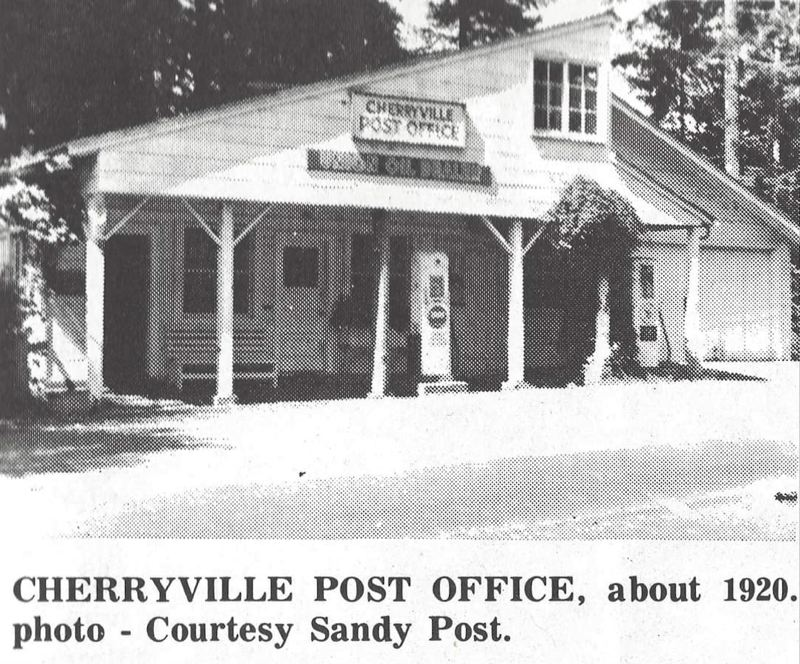 PMG FILE PHOTO - The Cherryville Post Office in 1920.