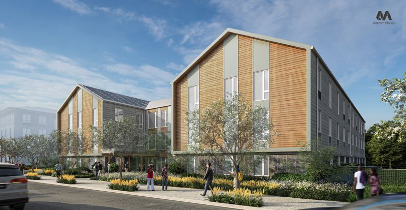 COURTESY CENTRAL CITY CONCERN - Cedar Commons is a new affordable and supportive housing project soon to open in East Portland.